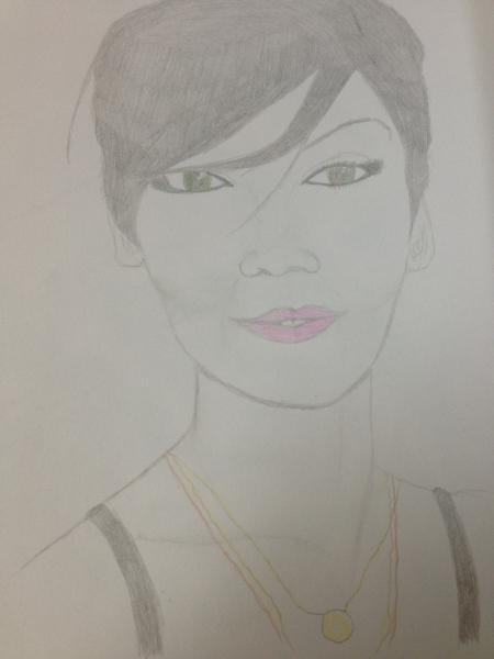 Rihanna by Margalith